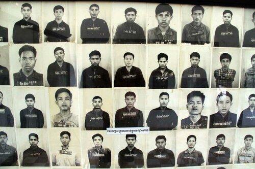 Тюрьма С-21, жертвы Красных Кхмеров