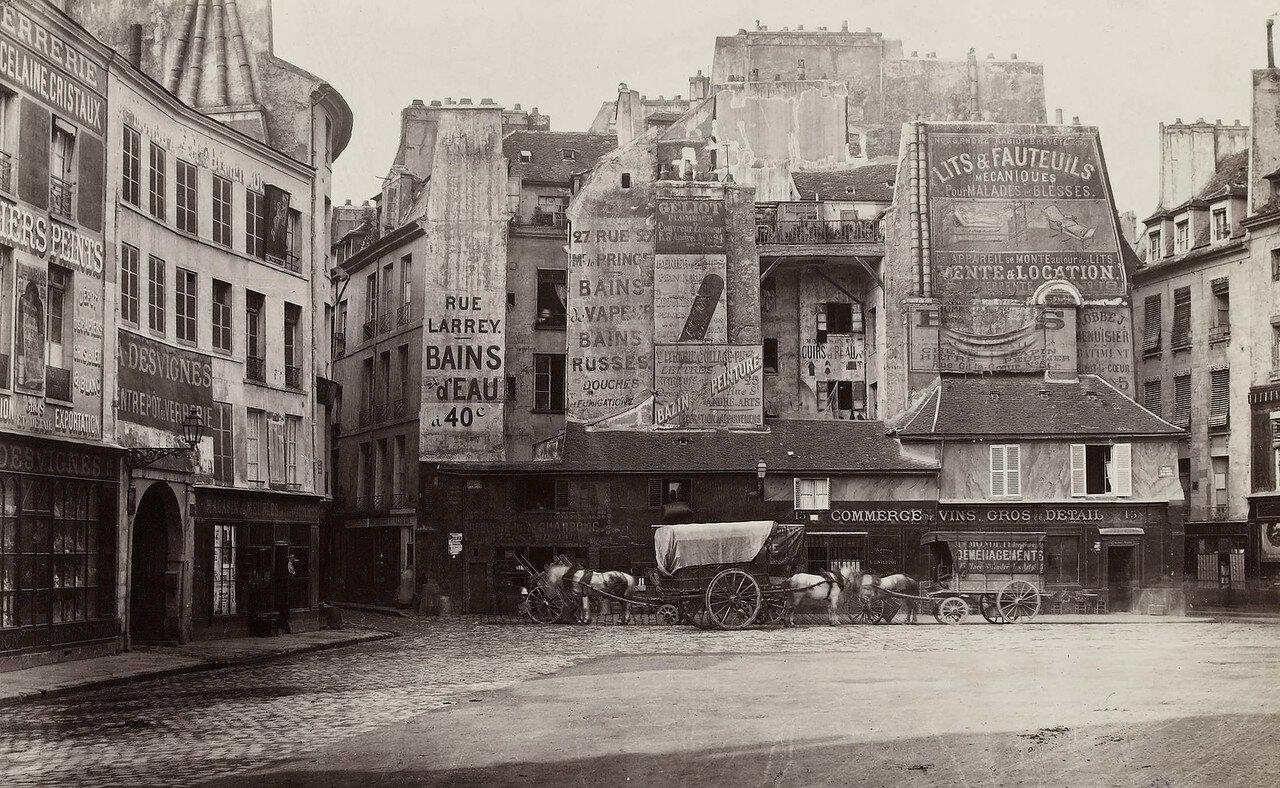 1865-1868. Площадь Сент-Андре-дез-Ар