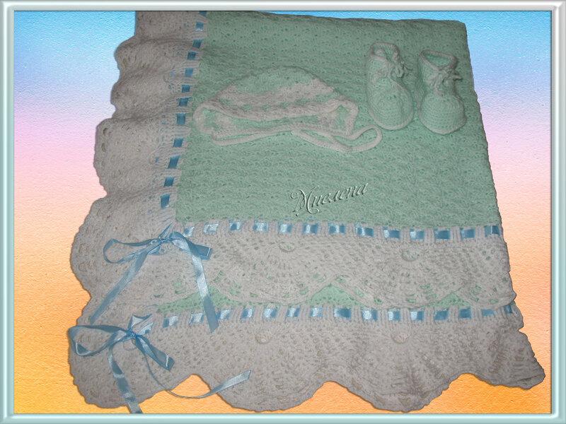 Комплект для новорожденного плямянника :)