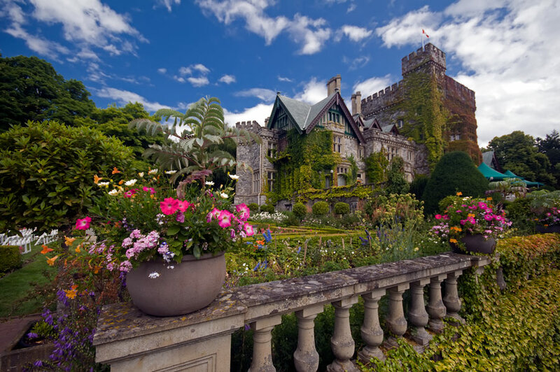 British columbia castle wedding