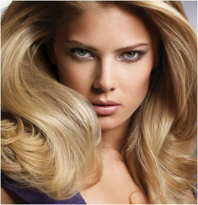 Шикарный объем волос