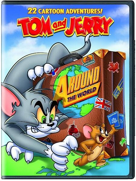 ��� � ������: ������ ����� / Tom and Jerry: Around the World (2012) DVDRip