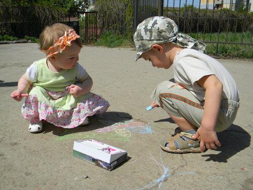 Выставка детских рисунков. Автор фото: Наталья Дмитренко