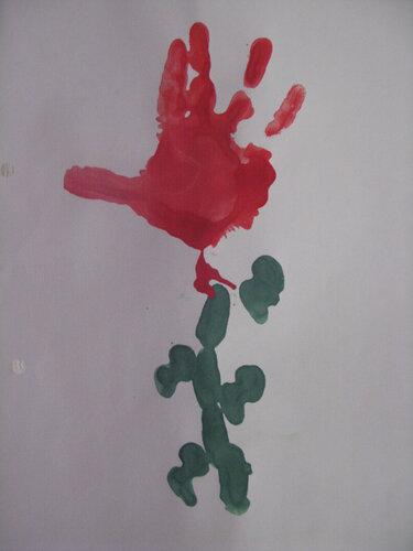 Рисунки красками. Автор: Соловьев Егор
