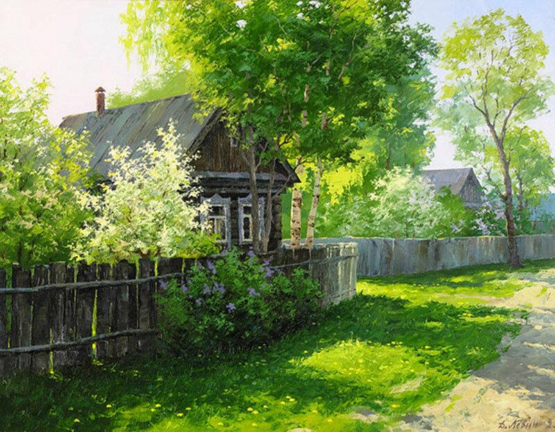 Дмитрий Лёвин. Весенне- летнее. Провинция.