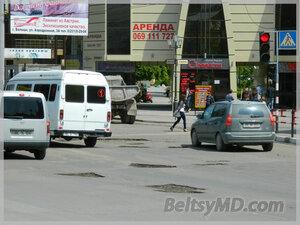 Бельцкие дороги готовят ко дню города