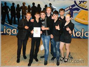 Участники Лиги КВН в Молдове