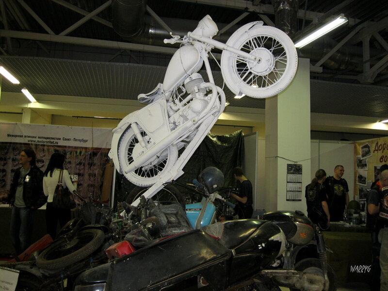 Памятник «И у мотоцикла есть душа».