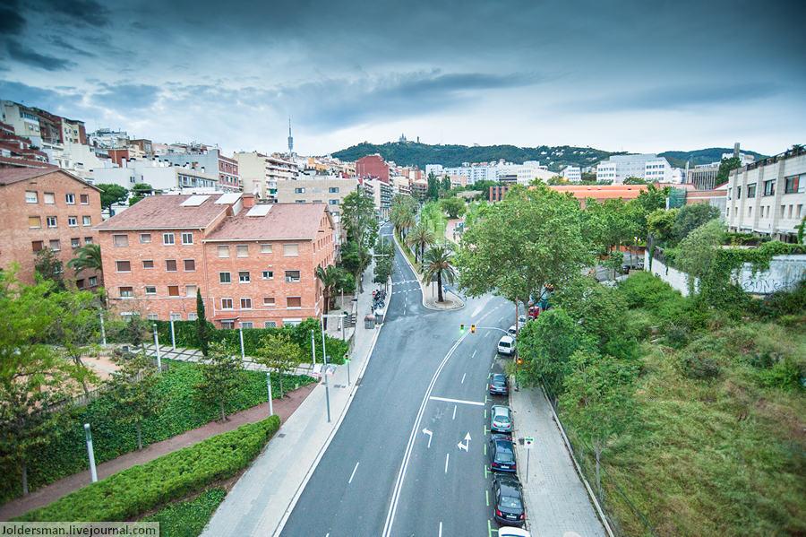 Барселона в мае - прогулка по городу