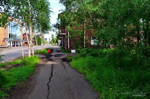 Фото города Инта №7801  Кирова 14 и 9 21.06.2015_14:12
