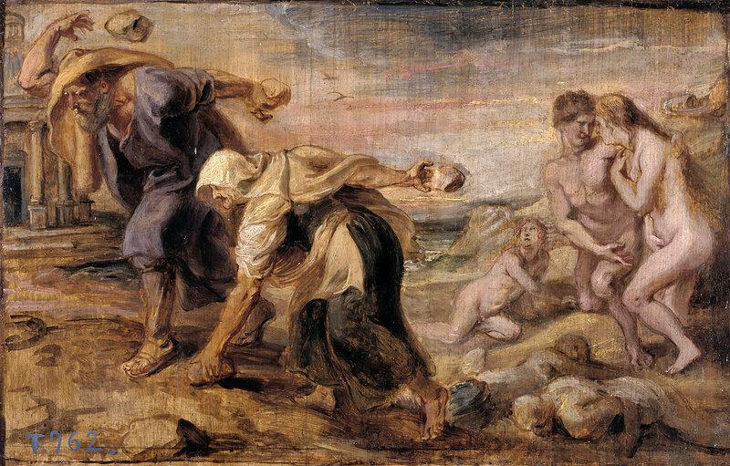 Девкалион и Пирра