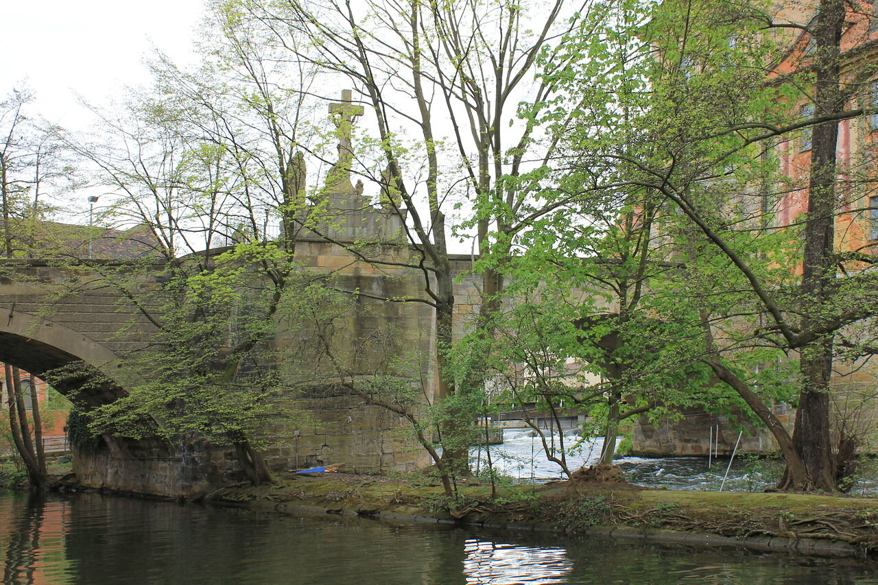 Бамберг.  Нижний мост. Untere Brücke. Bamberg.