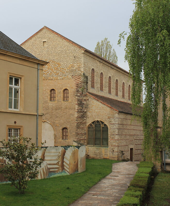 Мец. Церковь Святого Петра. Église Saint-Pierre-aux-Nonnains. Metz