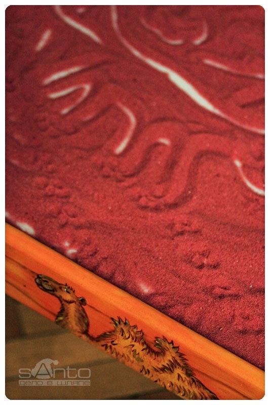 стол для театра теней
