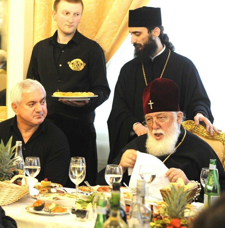 Патриарх Грузии Илия II, Элгуджи Кебурия