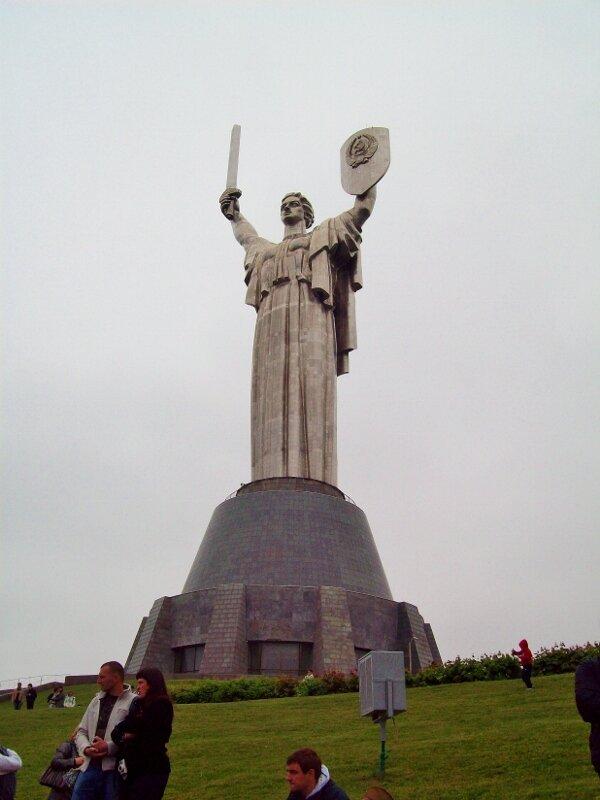 Монумент Родина Мать в Киеве