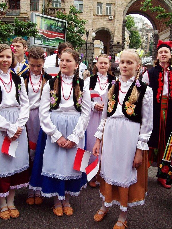 Представители Польши на Дне Европы в Киеве
