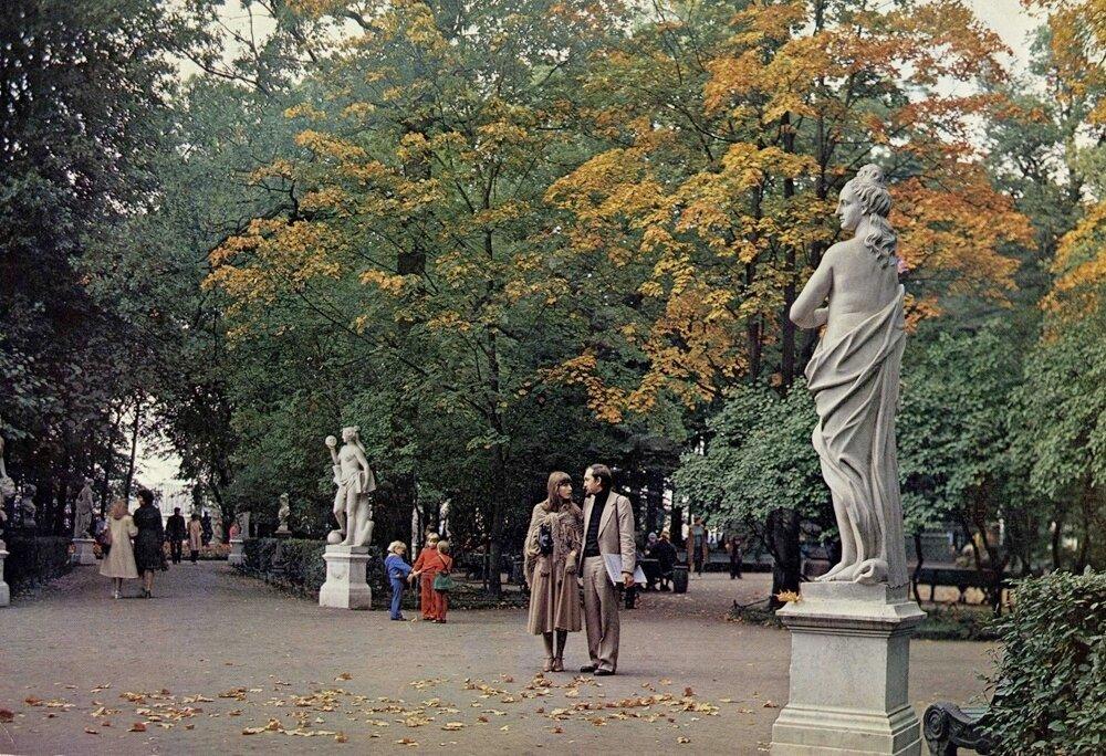 Летний сад. Ленинград, 1983 год