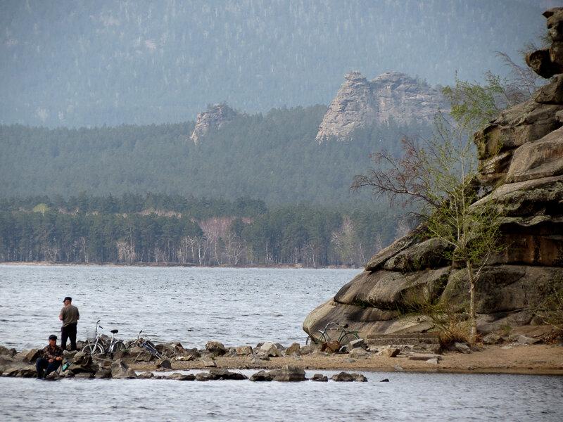 Боровое. Рыбаки на мысе - 2012 год. Комментарии к фото - Кокшетау Онлайн
