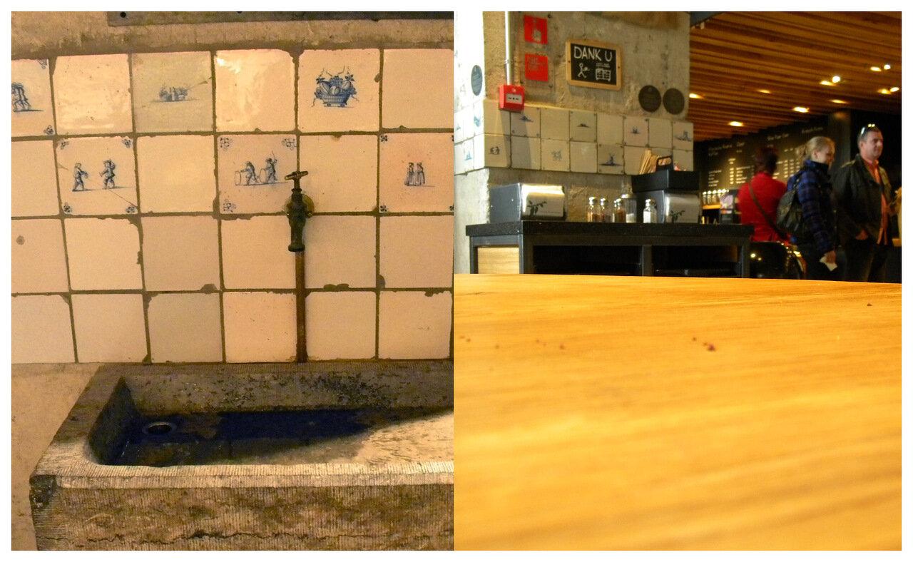 кафе старбакс в амстердаме