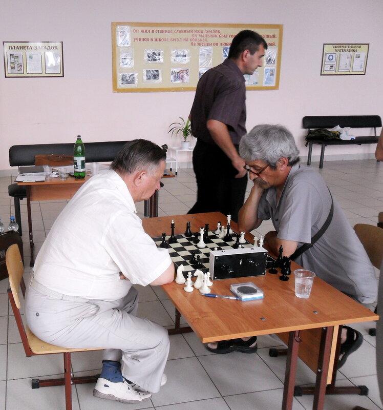 Шахматный турнир, в станице Бриньковской, май 2012