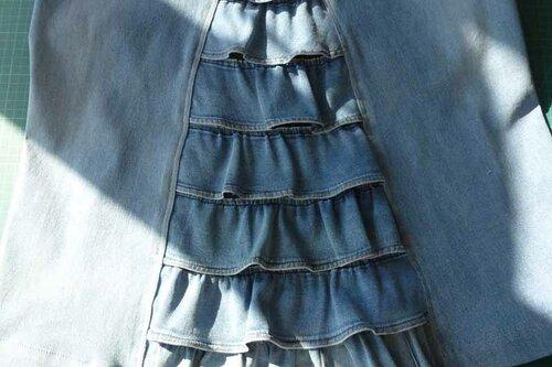 оборка юбки