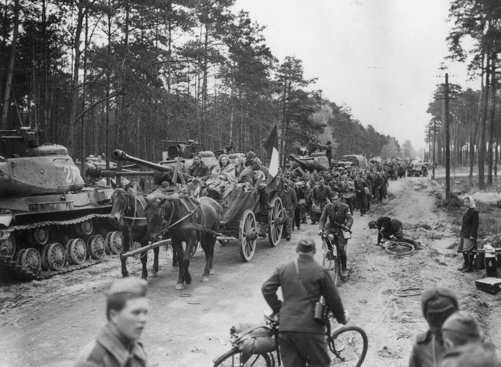Германия , май 1945