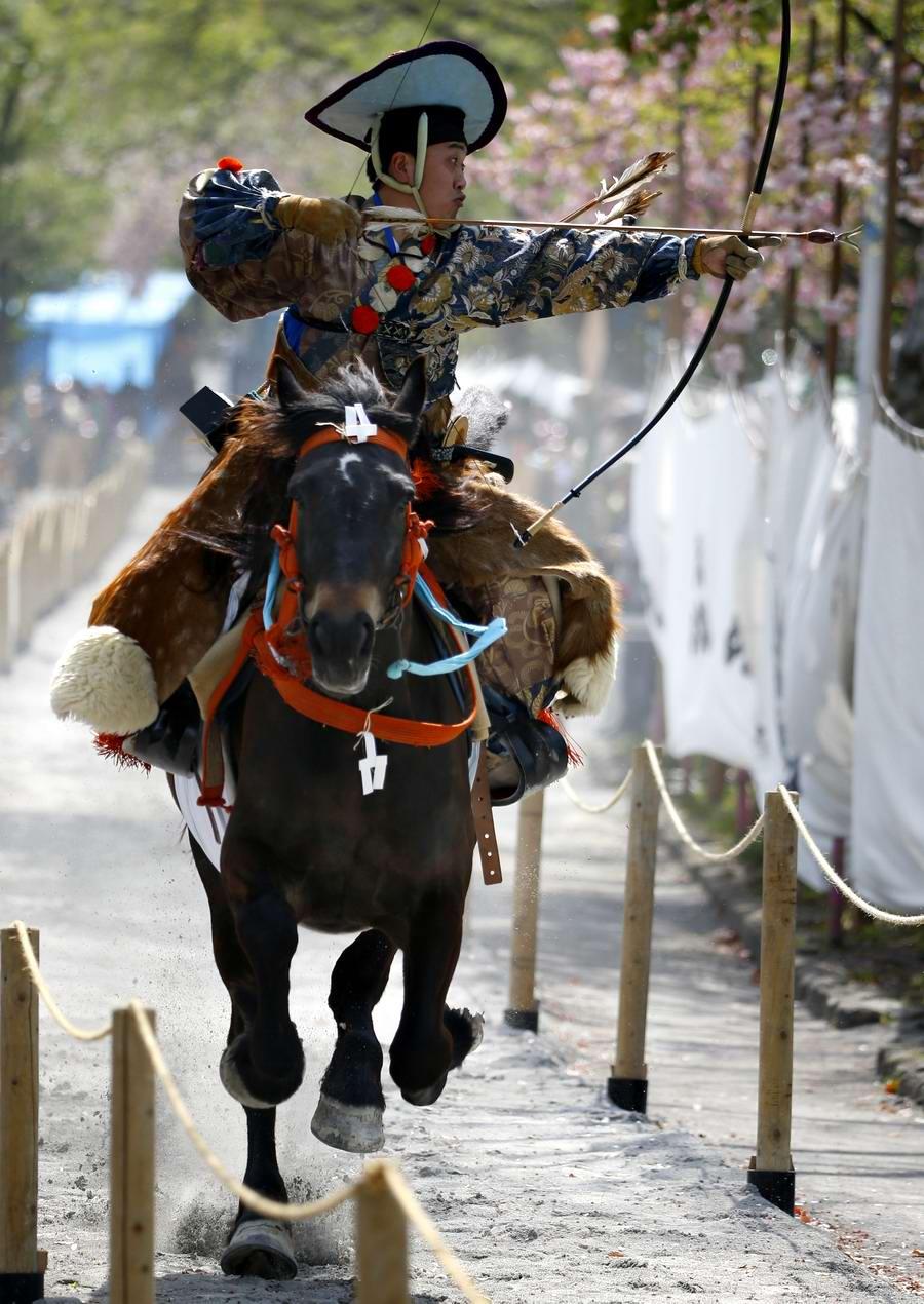 Стреляем из лука на полном скаку: Потомки японских самураев (7)