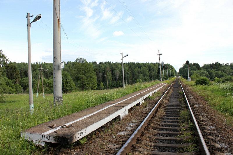 Платформа 168 км, перегон Осуга - Сычёвка