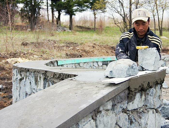 Строительство мемориала японским военнопленным в Приморье