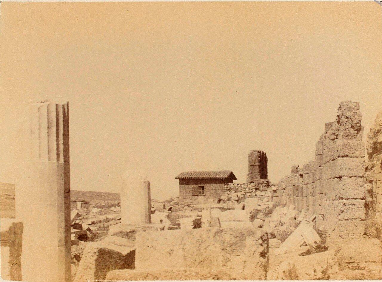 52. Афины. Театр Диониса. Римский портик