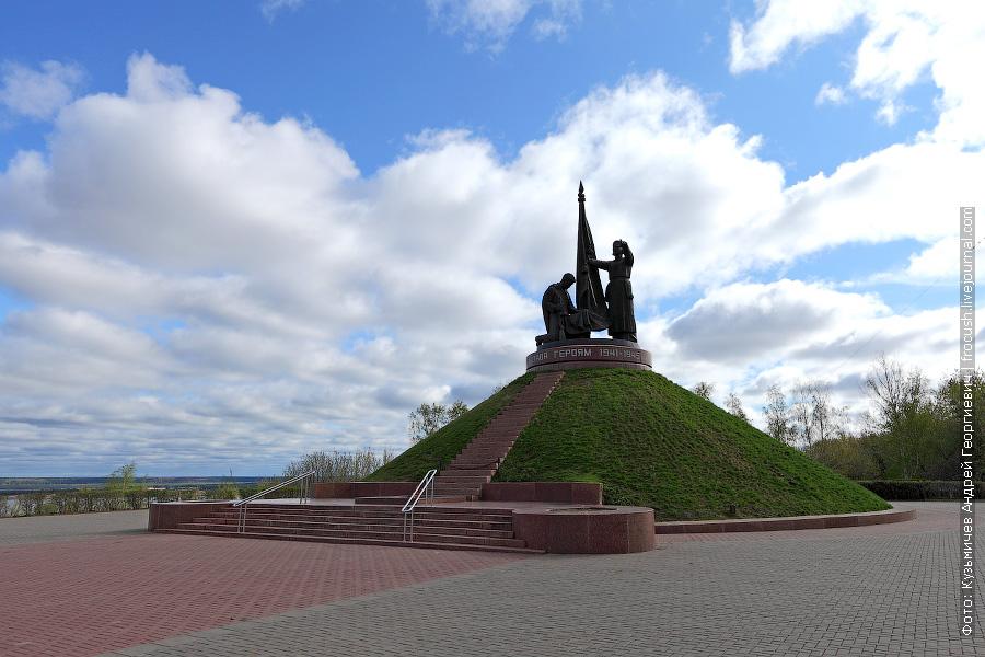 Монумент Воинской Славы в парке Победы в Чебоксарах