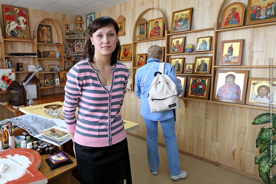 иконописная мастерская фабрики «Городецкая роспись»