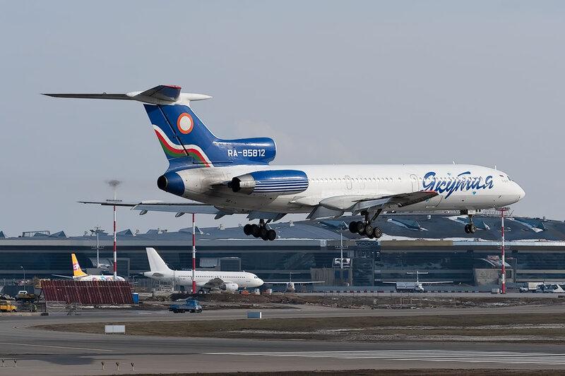 Туполев Ту-154М (RA-85812) Якутия DSC_9707