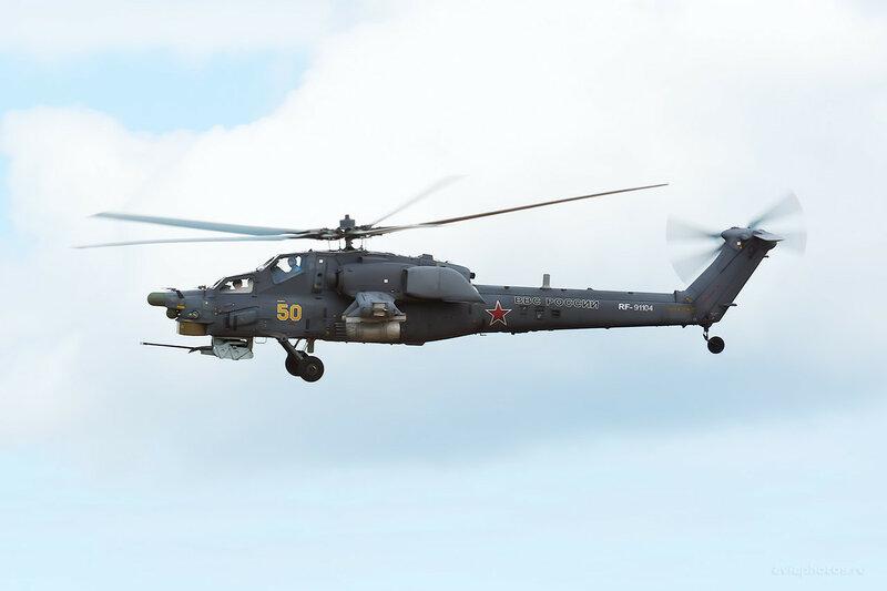Миль Ми-28Н (RF-91104 / 50 желтый) D809695b