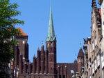 Гданьск-город многих зданий со шпилями