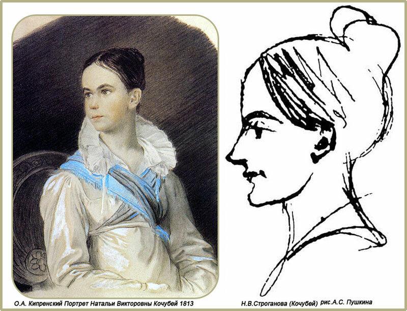 портрет екатерины бакуниной знакомой пушкина