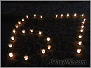 9 мая 2012 — зажгли в Бельцах 500 свечей