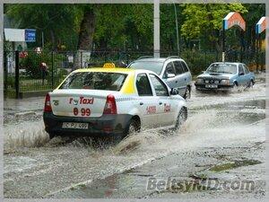 Ливневые дожди в Бельцах