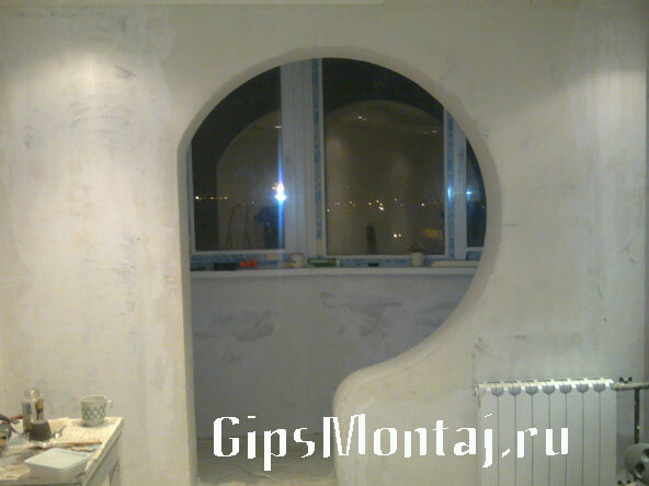 Фото арки в квартире - Дизайн арок из/b.