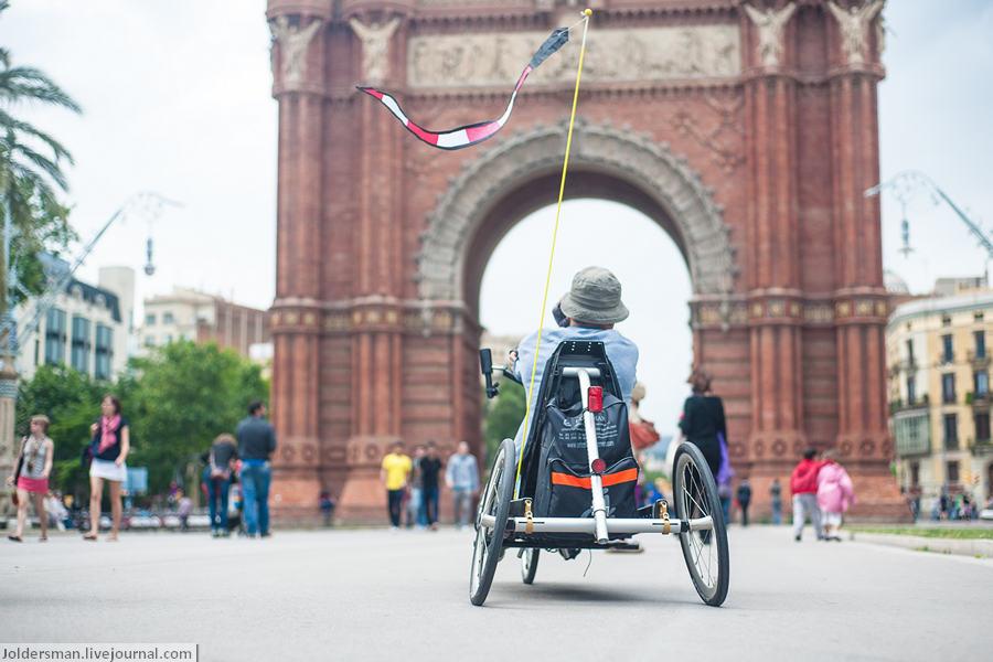 Велосипед в Барселоне - у каждого свой!