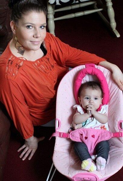 Рискнула жизнью ради рождения дочери