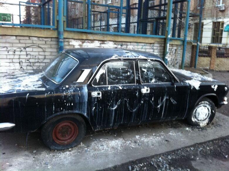 Штраф за неправильную парковку по-украински