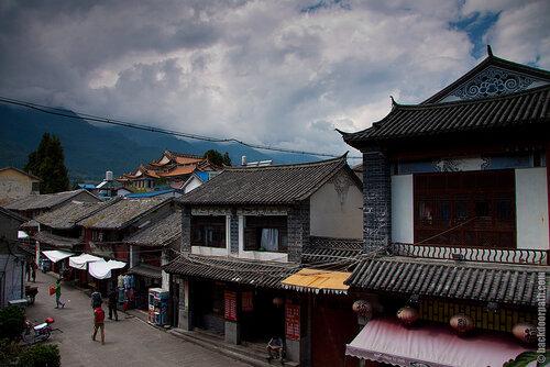 город Дали, провинция Юньнань, Китай