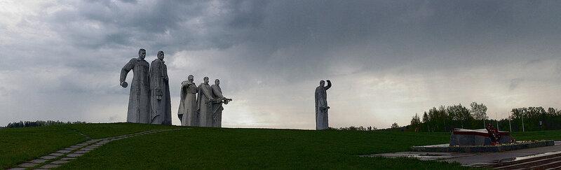 мемориал 28 героям панфиловцам
