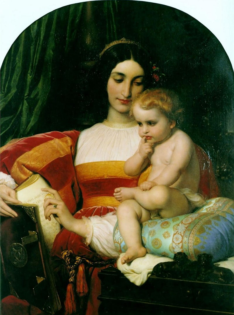 Поль Деларош (1797–1856) (Франция)  The Childhood of Pico della Mirandola
