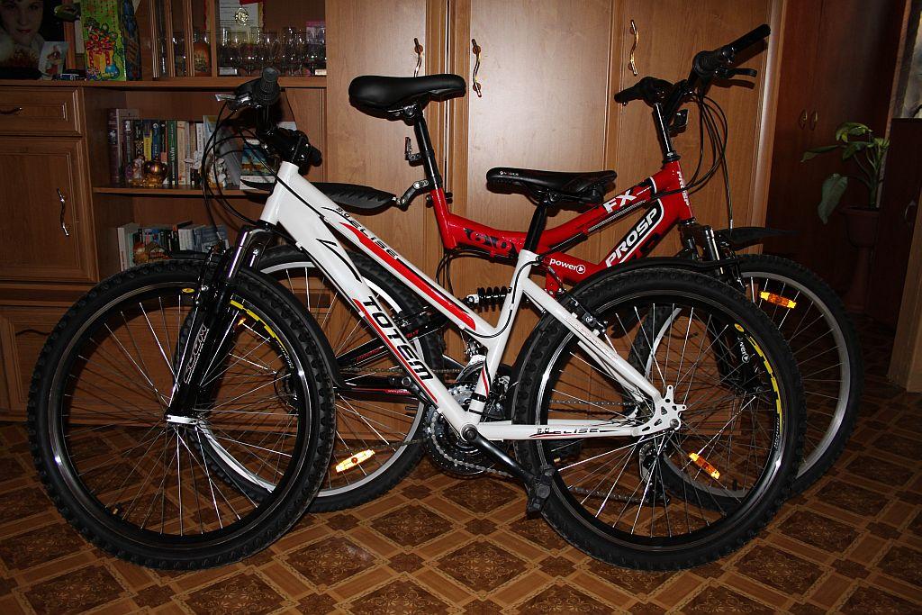 оба велосипеда