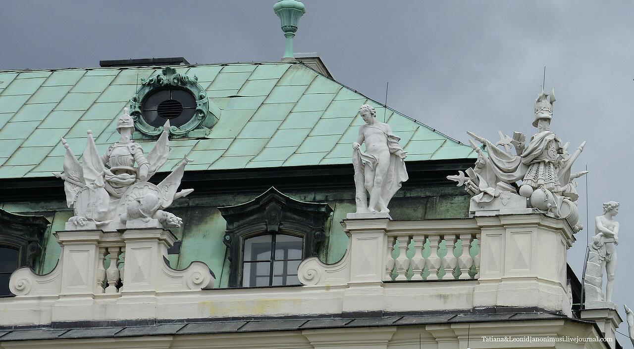 Дворцовый комплекс Бельведер. Вена. Австрия