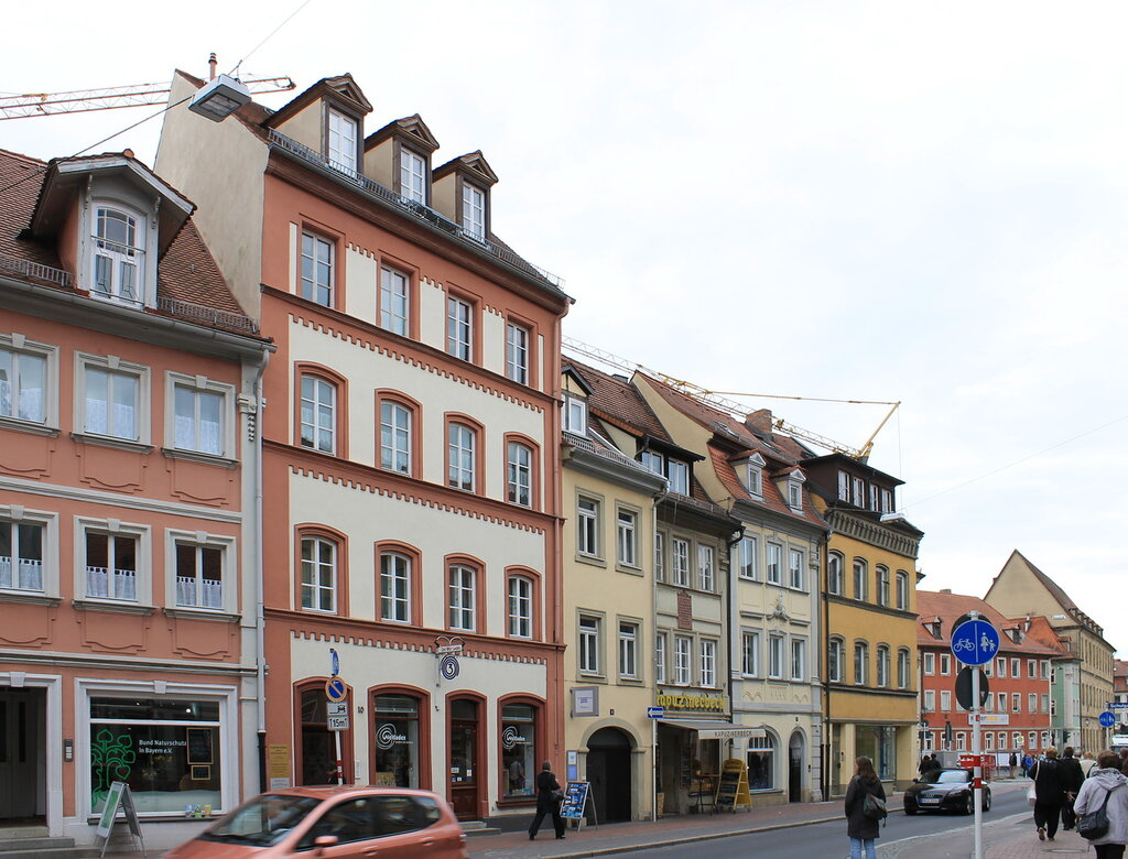 Бамберг. Улица Капуцинов (Kapuzinerstraße)