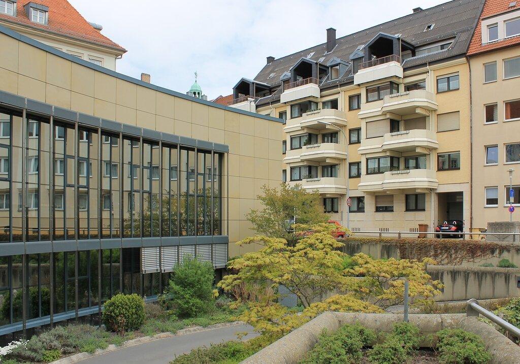 Бамберг. Здание Окружного суда (Amtsgericht Bamberg)